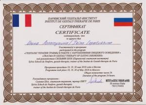 sertifikatSilvieTrauma2018